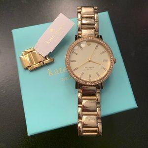 Kate Spade Gramercy Grand Watch (Gold)